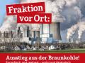 Konferenz Ausstieg aus der Braunkohle in Bergheim am 20. Oktober 2018