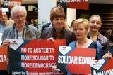 No to Austerity -Protest gegen Verschärfung des Stabilitätspakts
