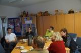 Besuch des ESF-geförderten AWO-Projektes JUWEL in Heidenau, 28. April 2014