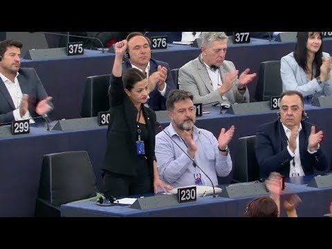 Speech of Sira Rego as candidate to the Presidency of the European Parliament