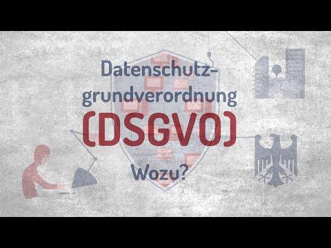 Datenschutzgrundverordnung – wozu?
